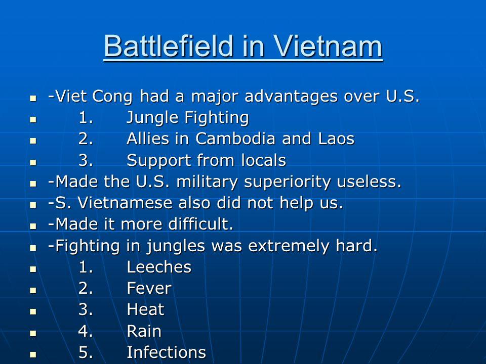 Battlefield in Vietnam