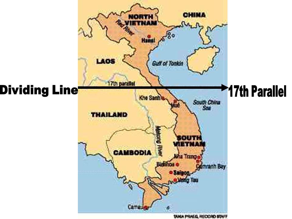 Dividing Line 17th Parallel