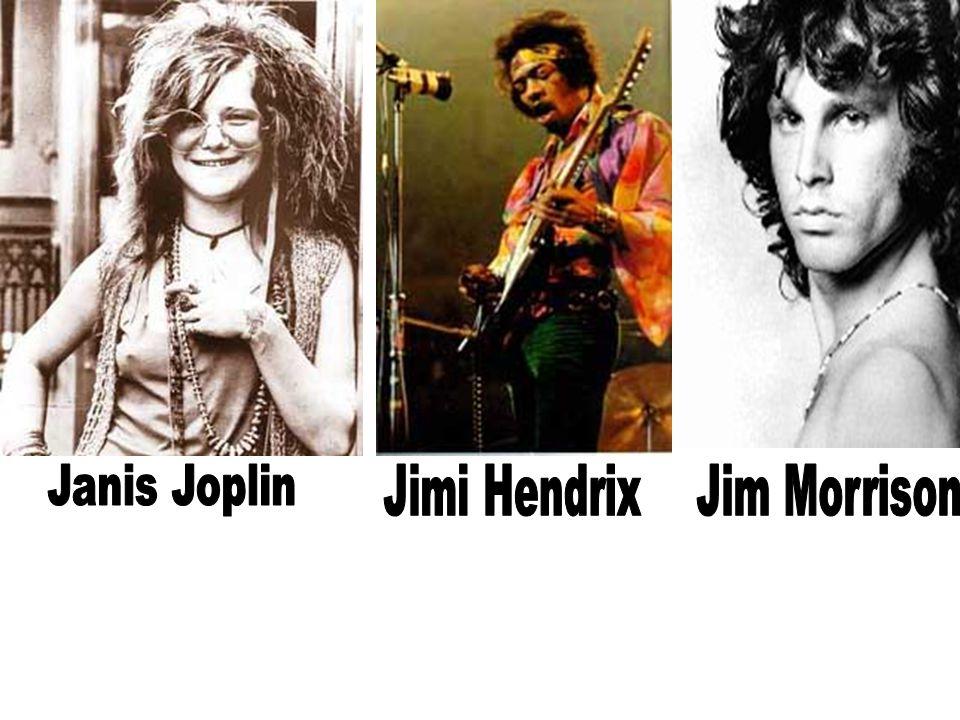 Janis Joplin Jimi Hendrix Jim Morrison