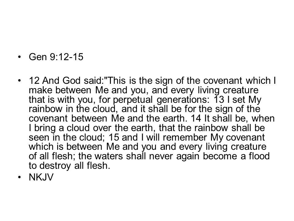 Gen 9:12-15