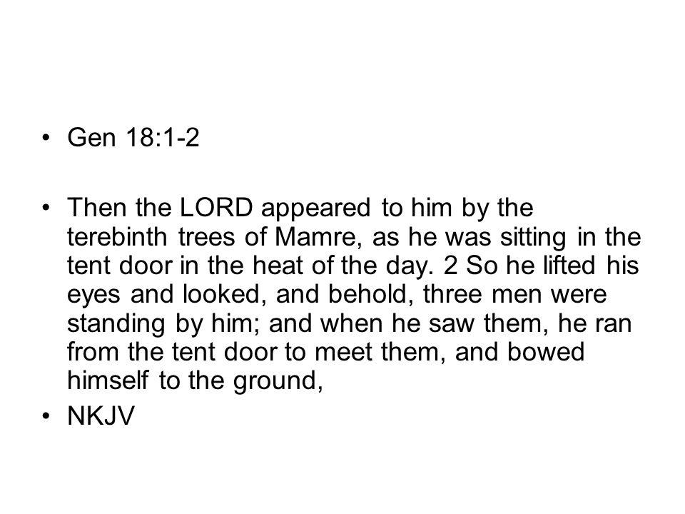 Gen 18:1-2