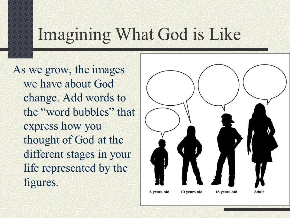 Imagining What God is Like