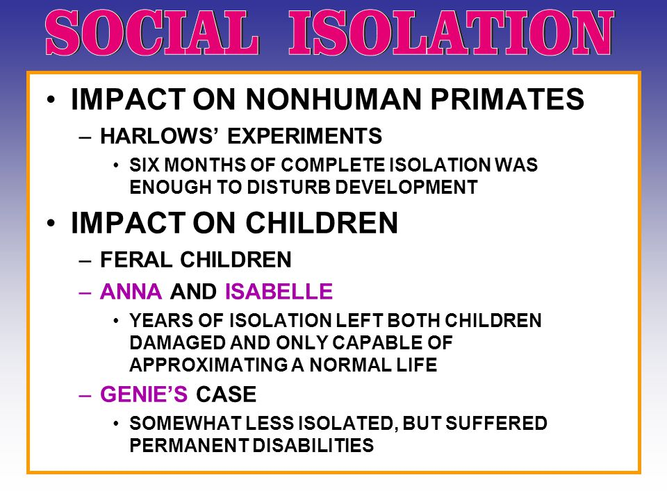 IMPACT ON NONHUMAN PRIMATES