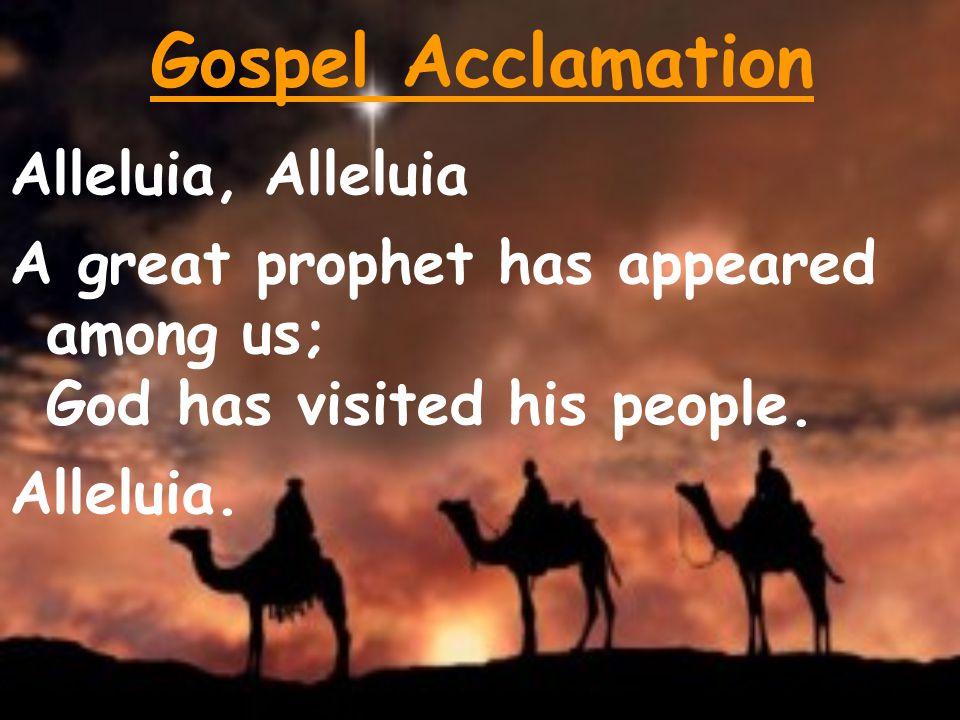 Gospel Acclamation Alleluia, Alleluia
