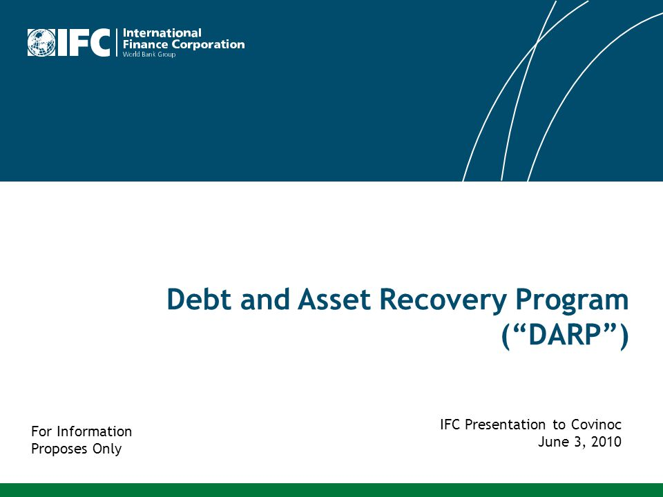 Debt and Asset Recovery Program ( DARP )