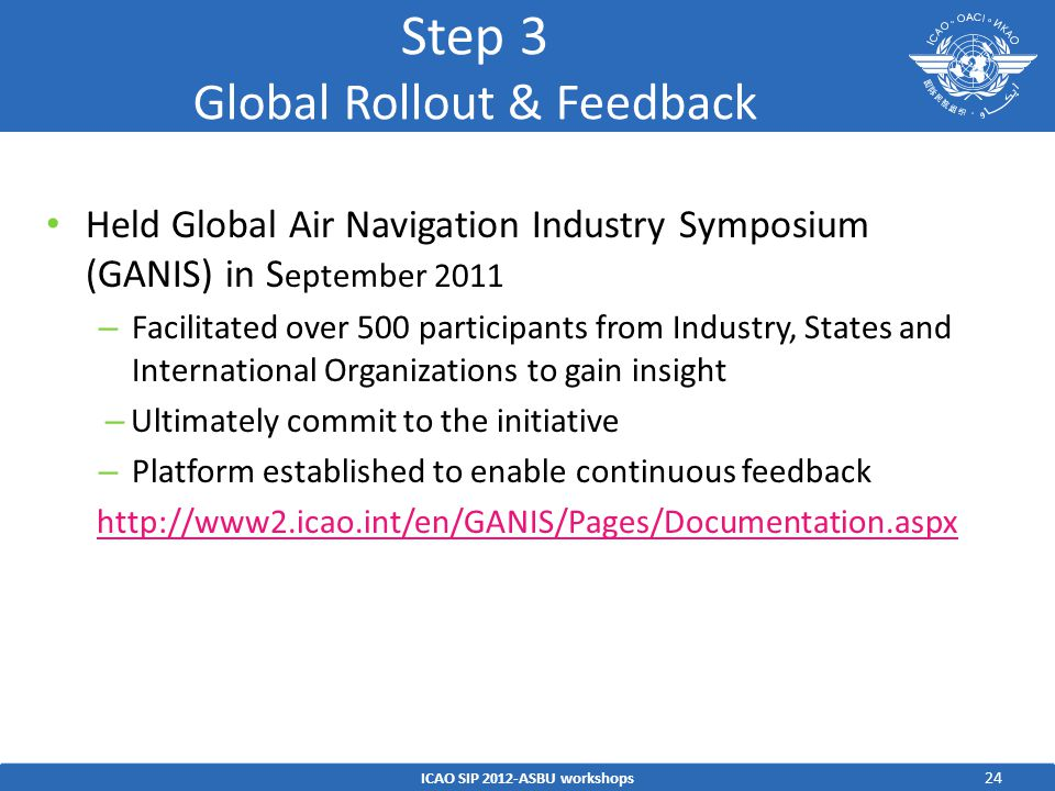 Step 3 Global Rollout & Feedback