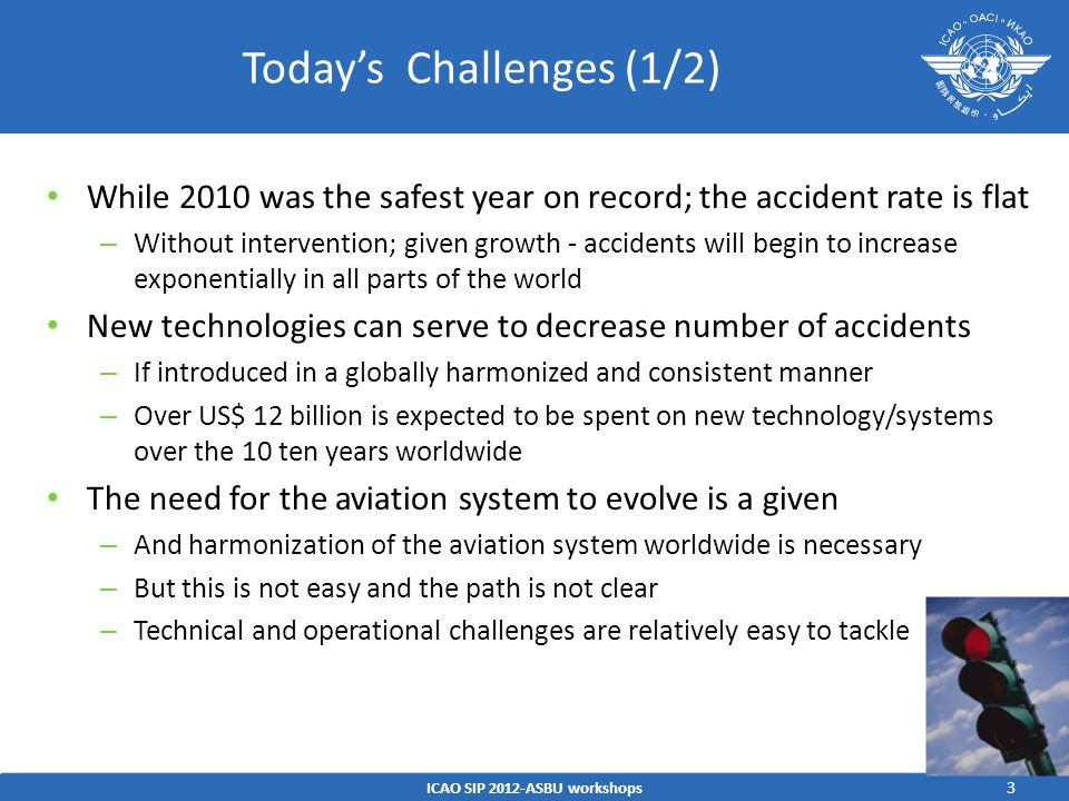 Today's Challenges (1/2)