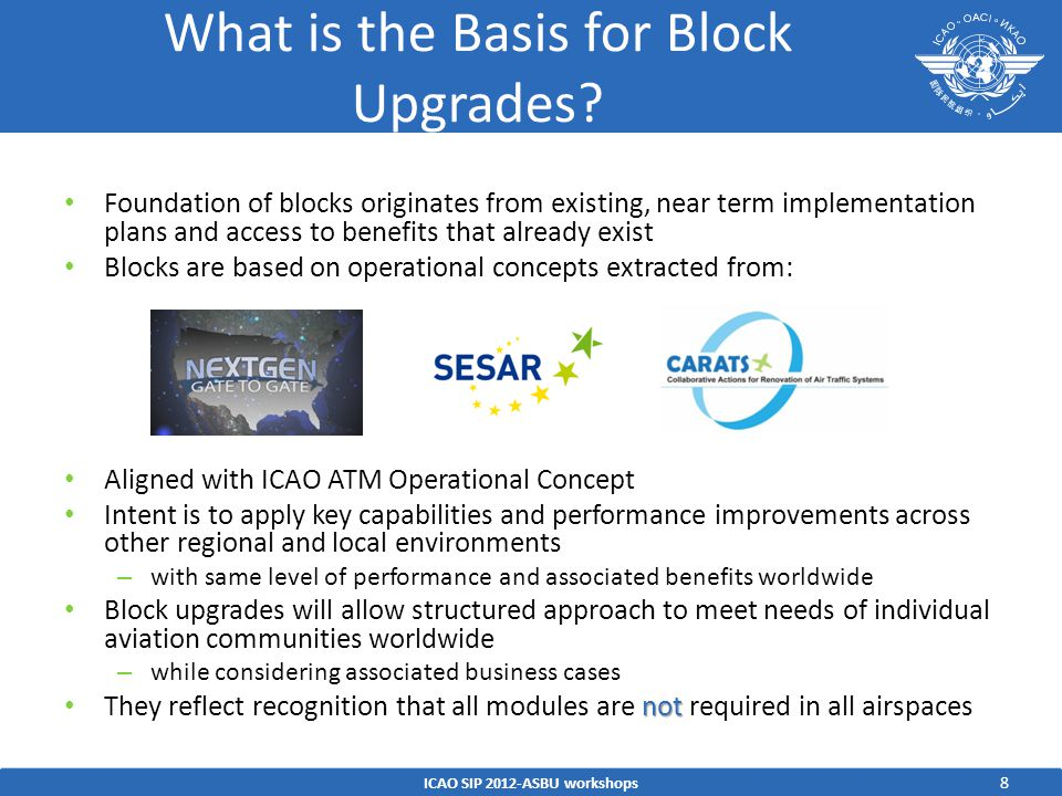 What is the Basis for Block Upgrades