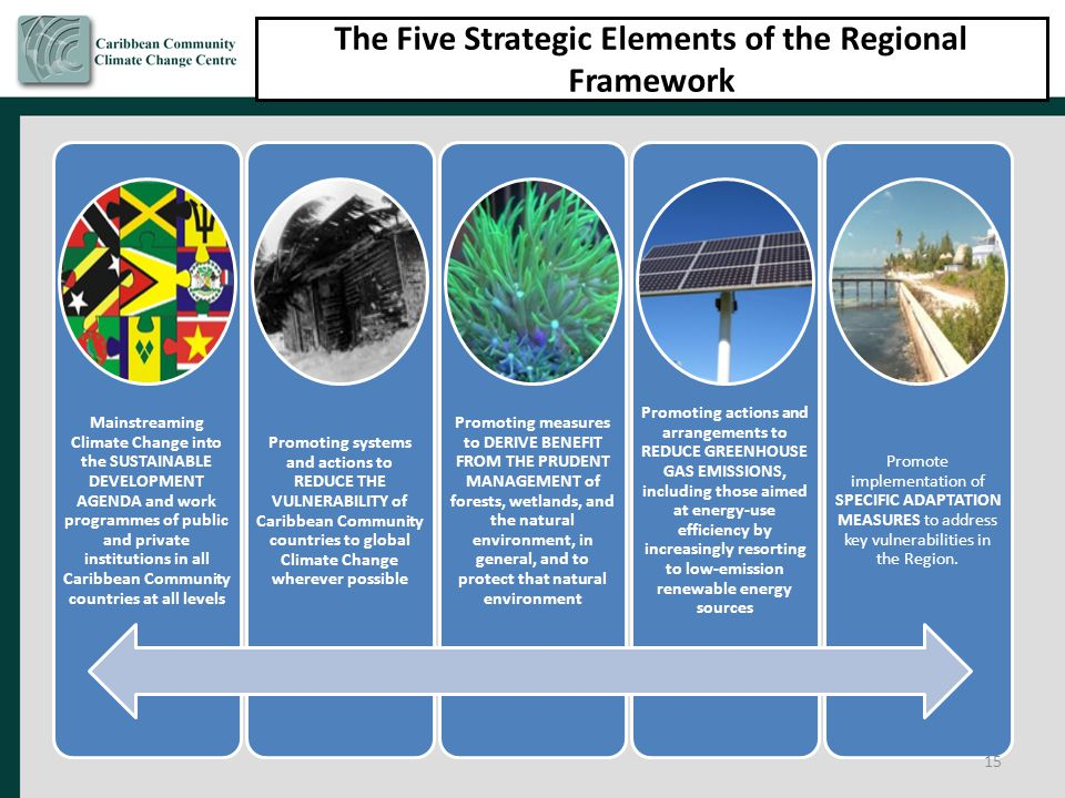 The Five Strategic Elements of the Regional Framework