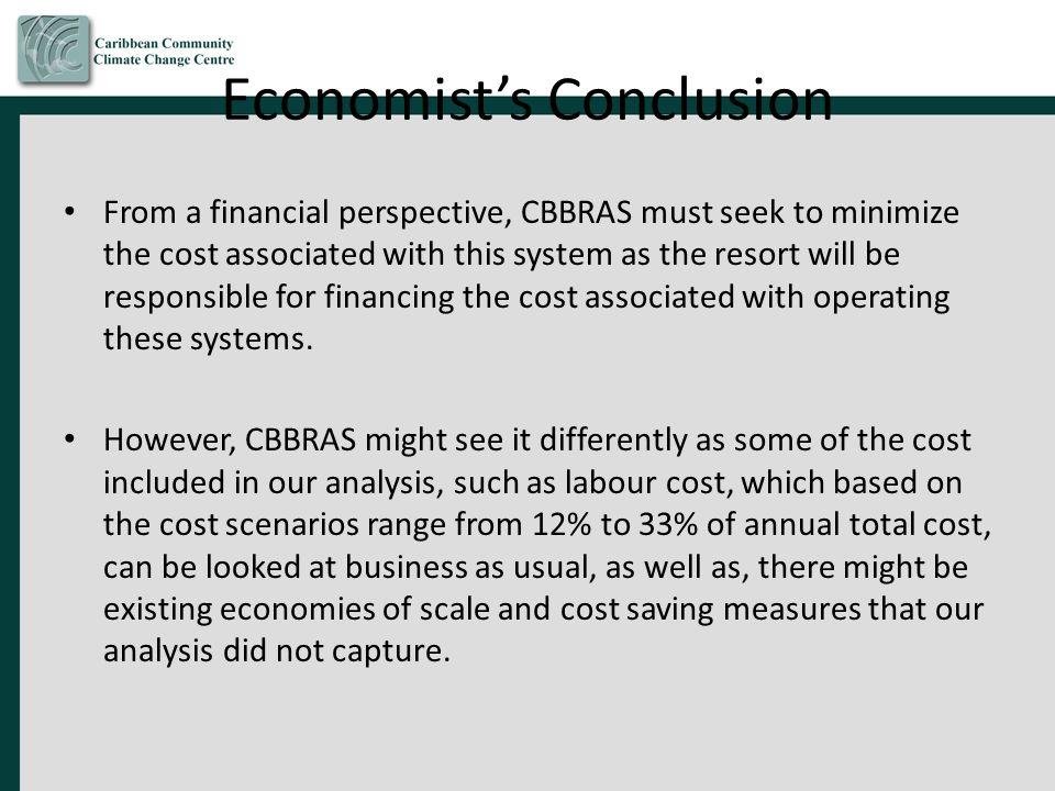 Economist's Conclusion
