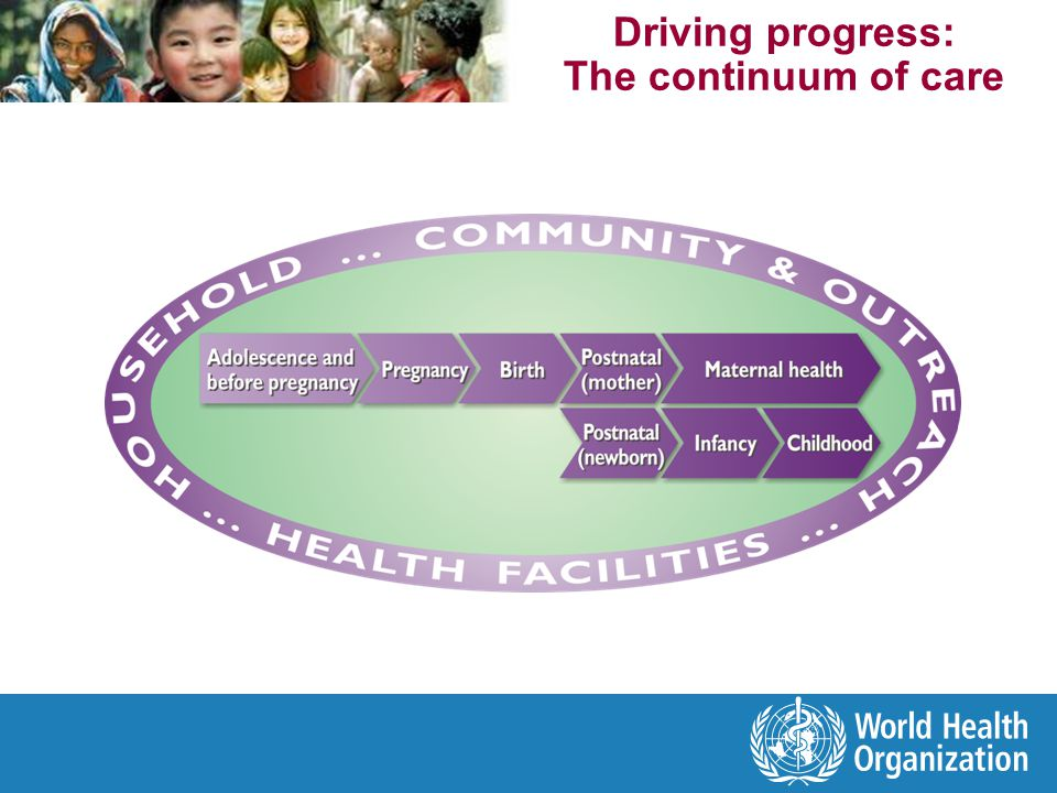 Driving progress: The continuum of care