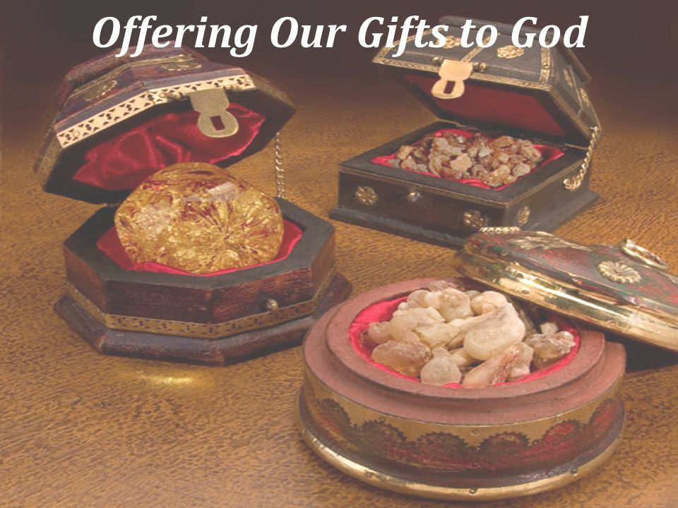 Offering Our Gifts to God