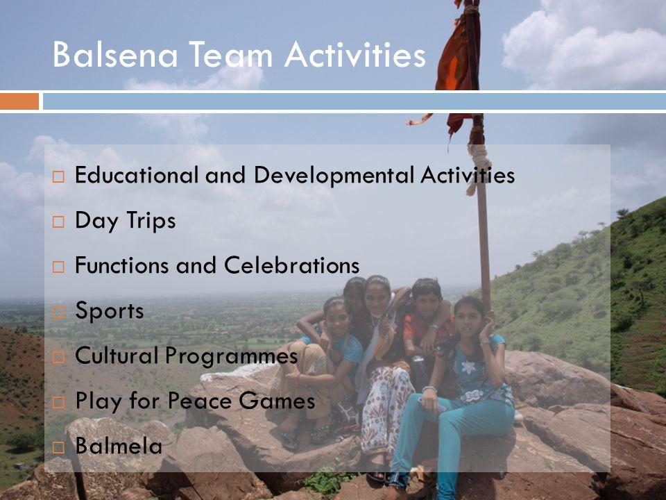 Balsena Team Activities