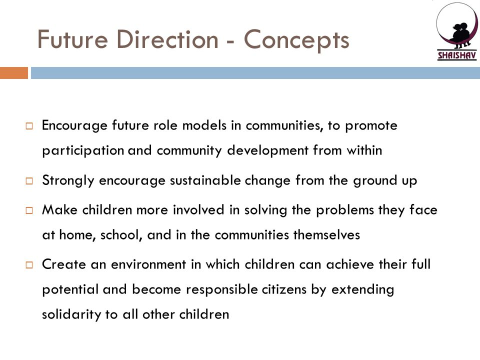 Future Direction - Concepts