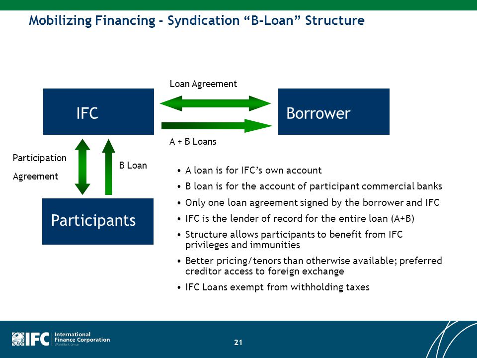 IFC Borrower Participants