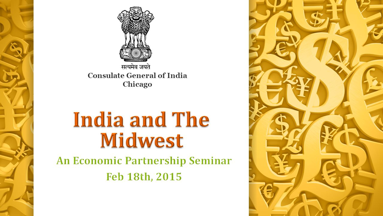 An Economic Partnership Seminar Feb 18th, 2015