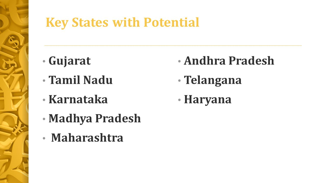 Key States with Potential