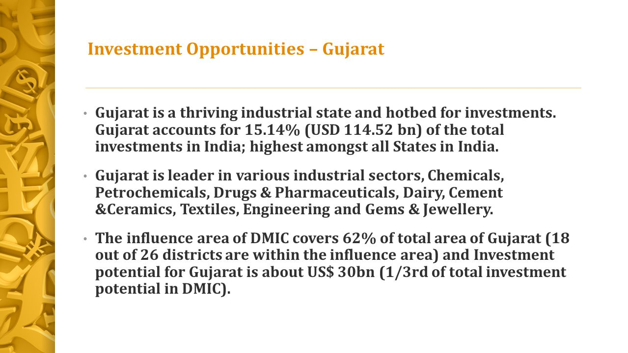 Investment Opportunities – Gujarat