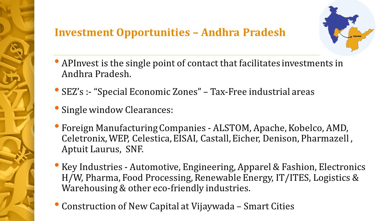 Investment Opportunities – Andhra Pradesh