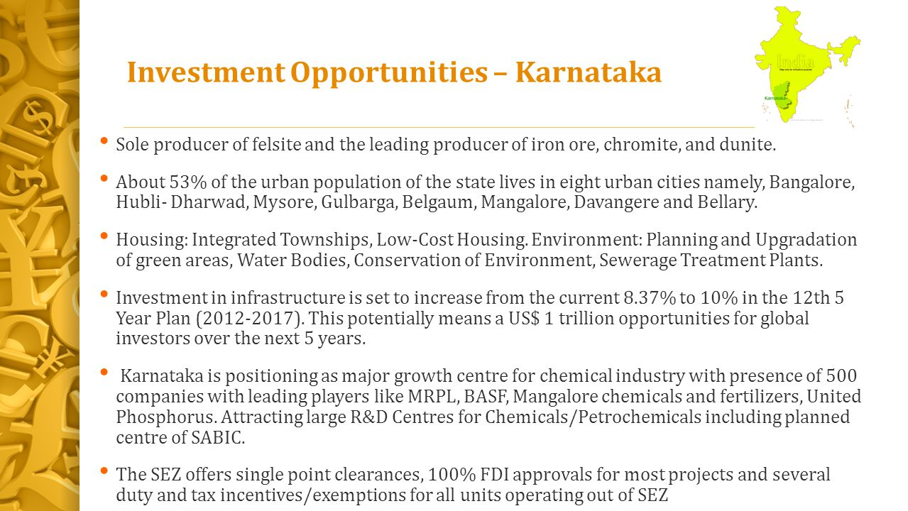 Investment Opportunities – Karnataka