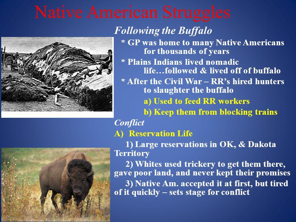 Native American Struggles