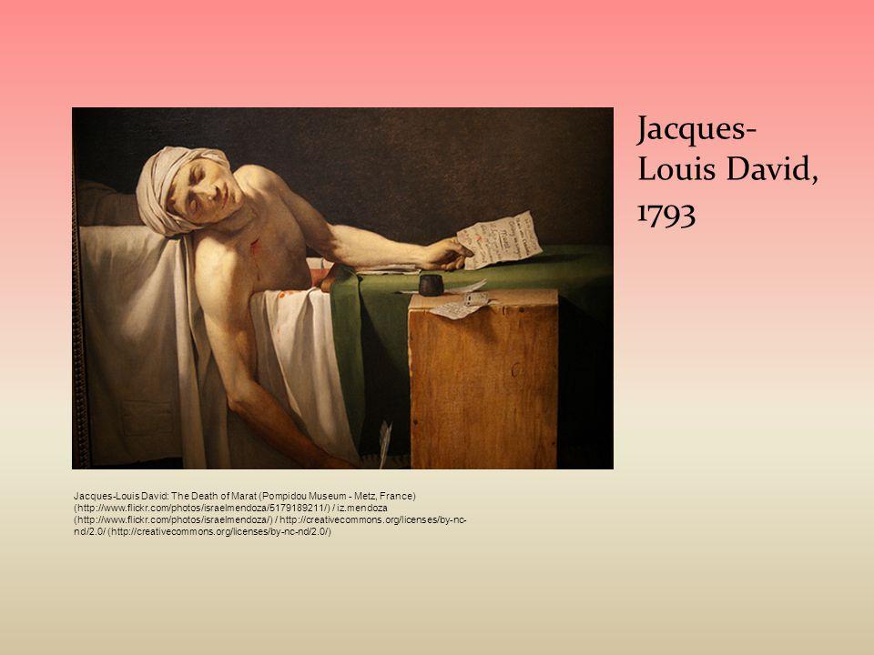 Jacques-Louis David, 1793