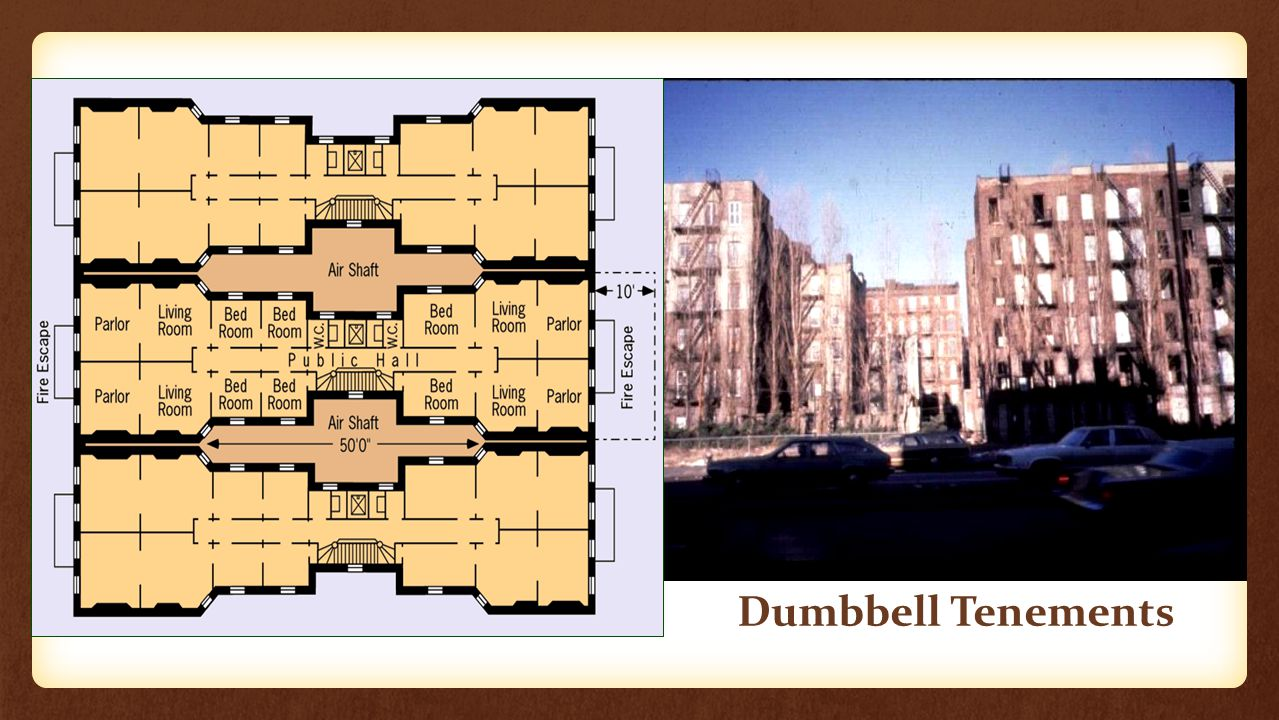 Dumbbell Tenements
