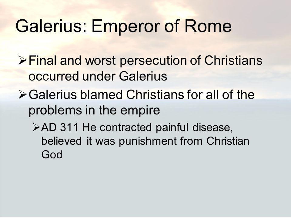 Galerius: Emperor of Rome