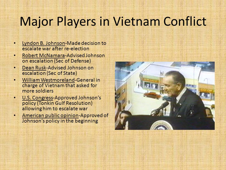 Major Players in Vietnam Conflict