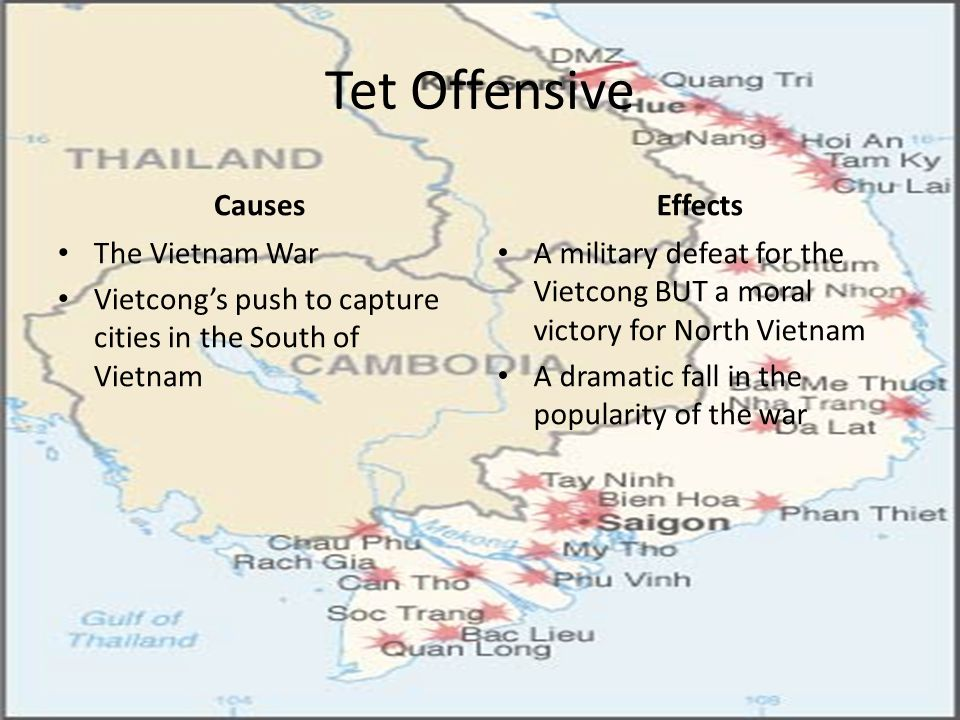 Tet Offensive Causes Effects The Vietnam War