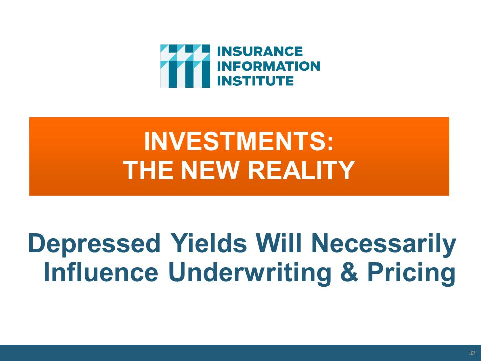 INVESTMENTS: THE NEW REALITY
