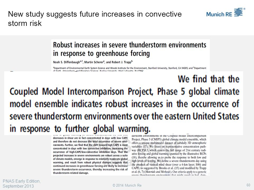 New study suggests future increases in convective storm risk
