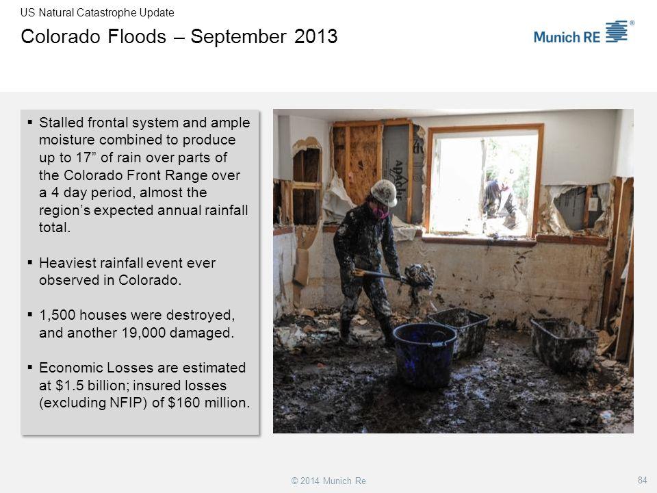Colorado Floods – September 2013