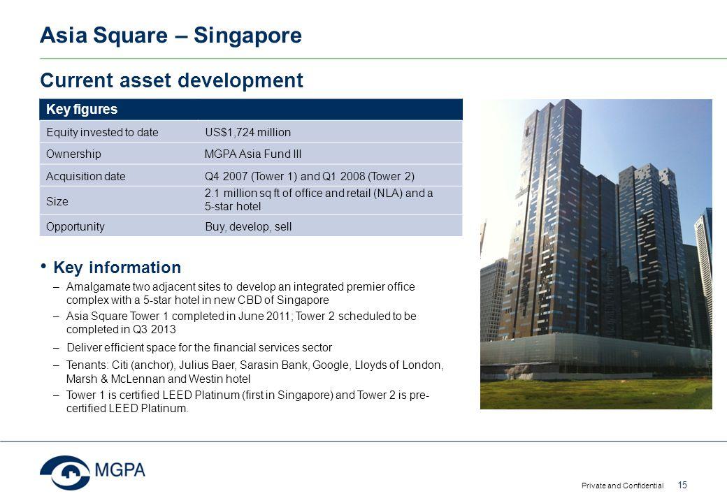 Asia Square – Singapore