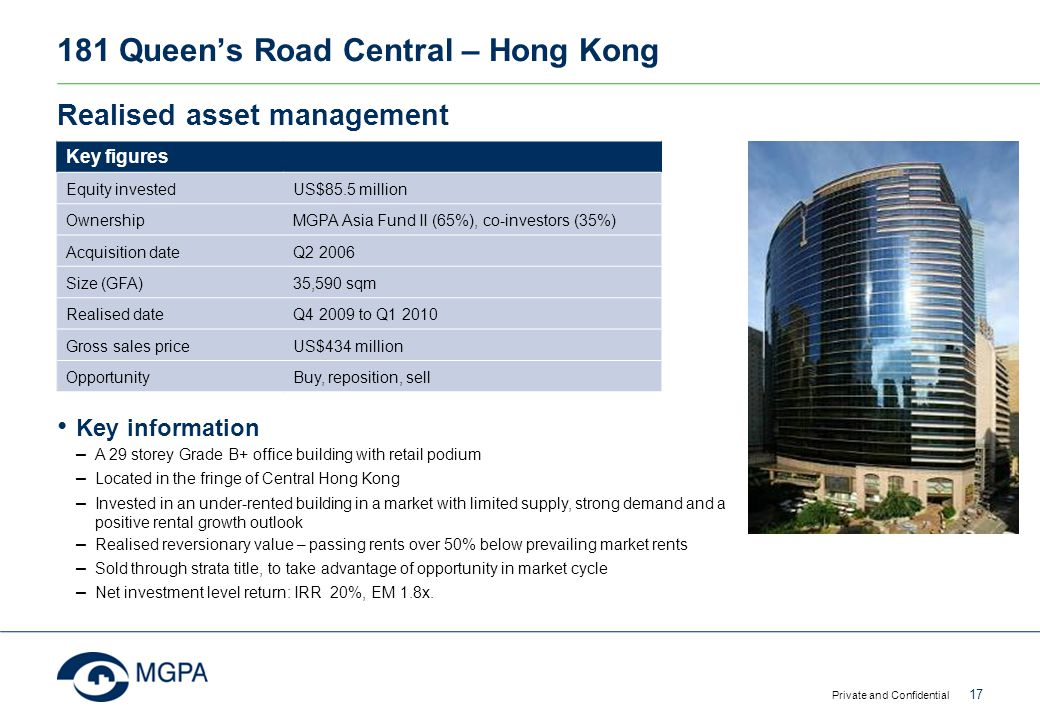 181 Queen's Road Central – Hong Kong