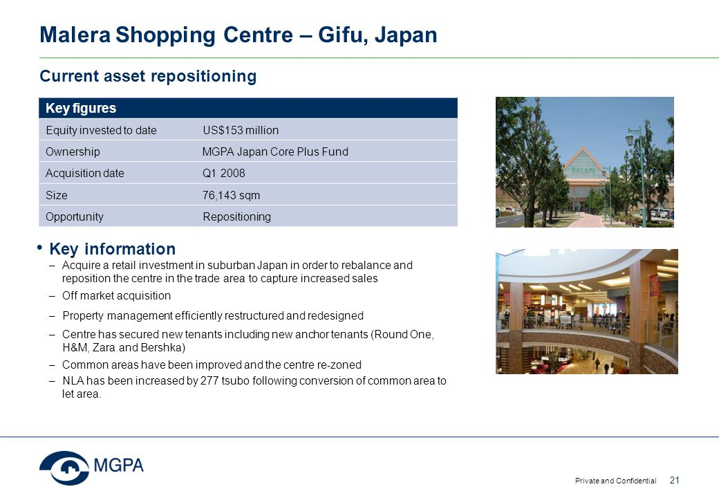 Malera Shopping Centre – Gifu, Japan