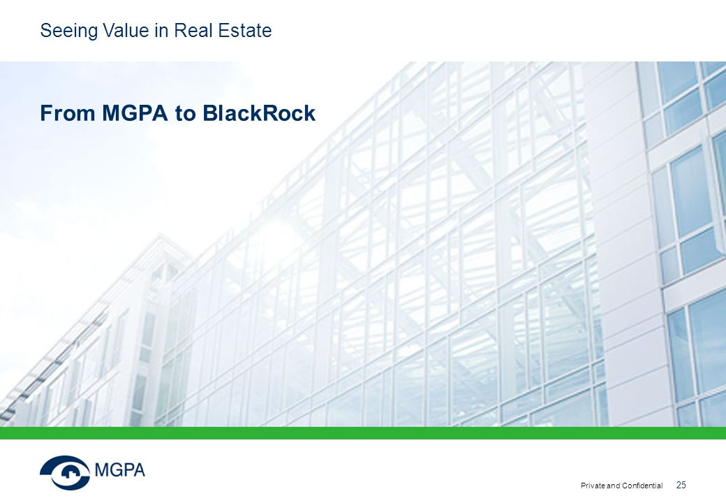 From MGPA to BlackRock