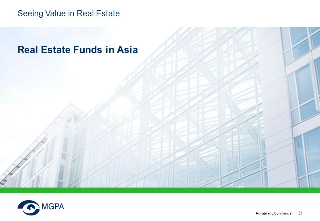 Real Estate Funds in Asia