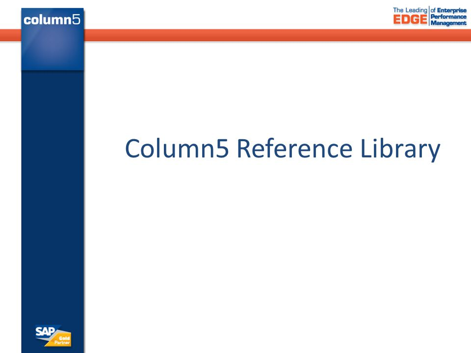 Column5 Reference Library