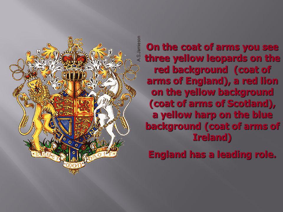 England has a leading role.