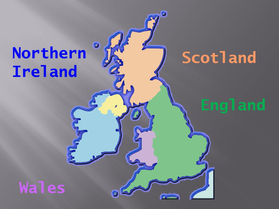 Northern Ireland Scotland England Wales