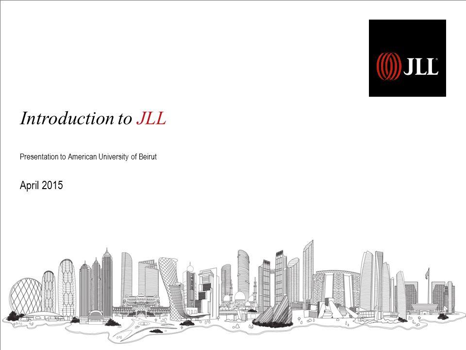 Contents 1 JLL: Global / MENA / UAE 2