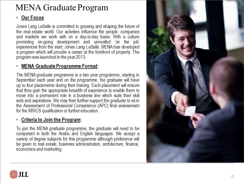2013 MENA Graduate Program – Sharing their experiences