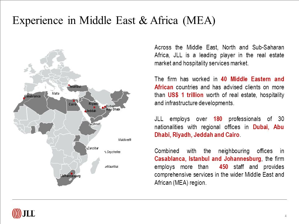 Middle-East & Africa integrated services