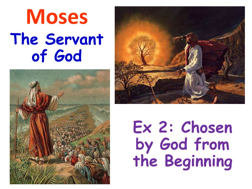 Ex 2: Chosen by God from the Beginning