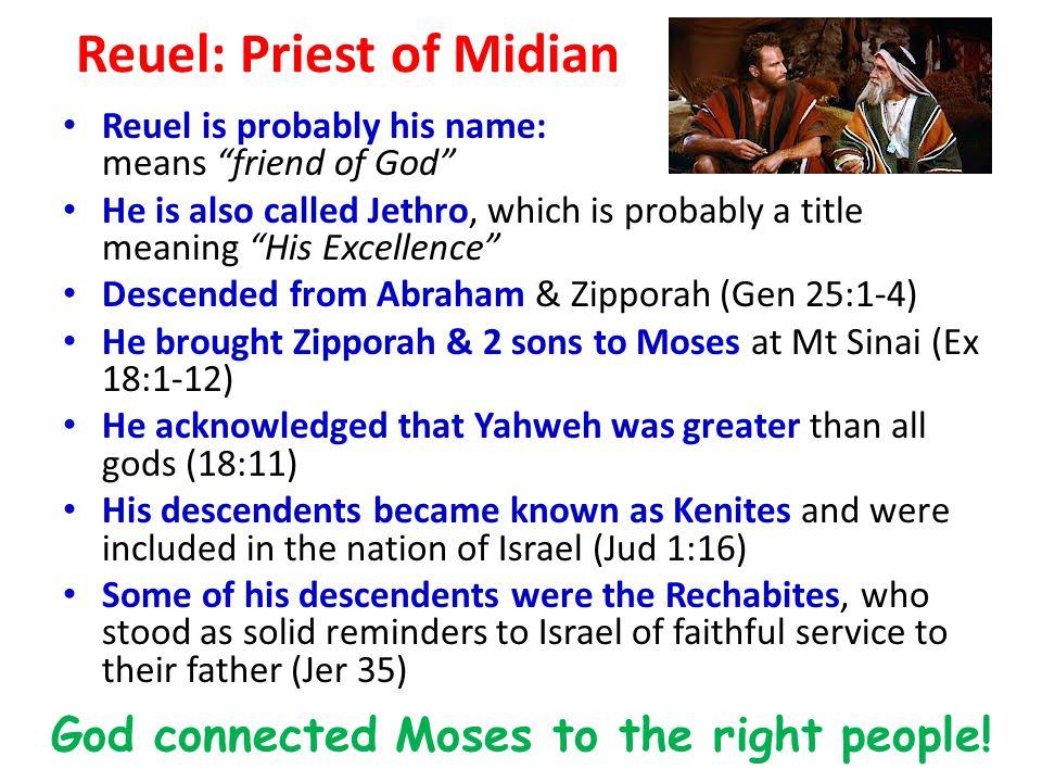 Reuel: Priest of Midian