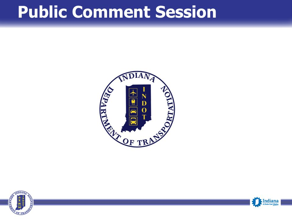 Public Comment Session