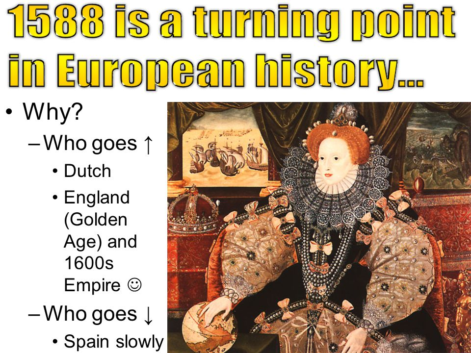 1588 is a turning point in European history… Why Who goes ↑