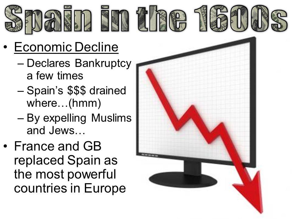 Spain in the 1600s Economic Decline