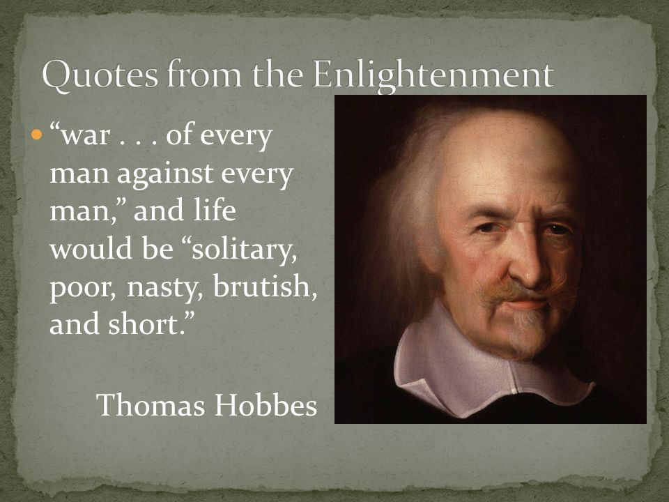 Quotes from the Enlightenment